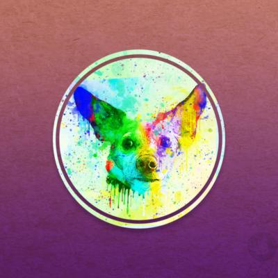 Color Splash Dog